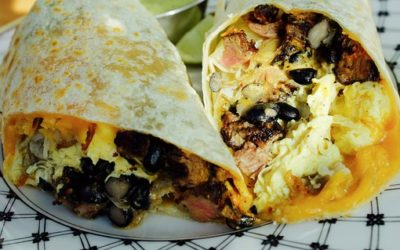 Make-Ahead Breakfast Burrito