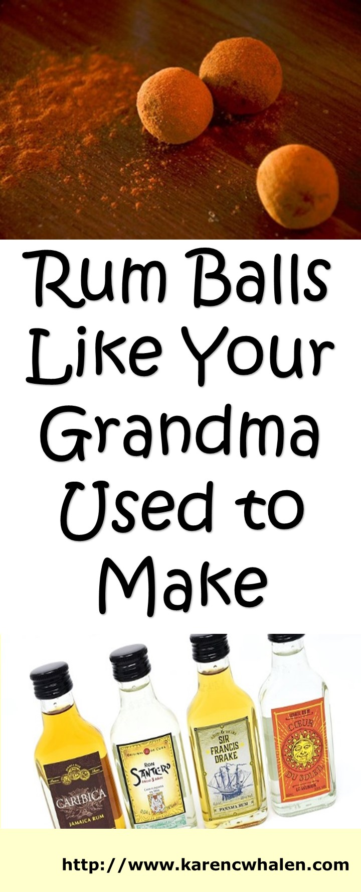 Rum Ball Recipe Like Grandma Used to Make